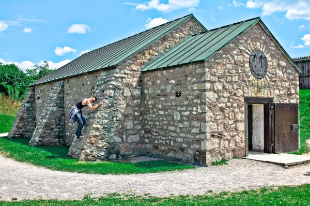 Fort George, Niagara-on-the-Lake, Day Trips Ontario, Places to Visit in Ontario, Forts in Ontario,a