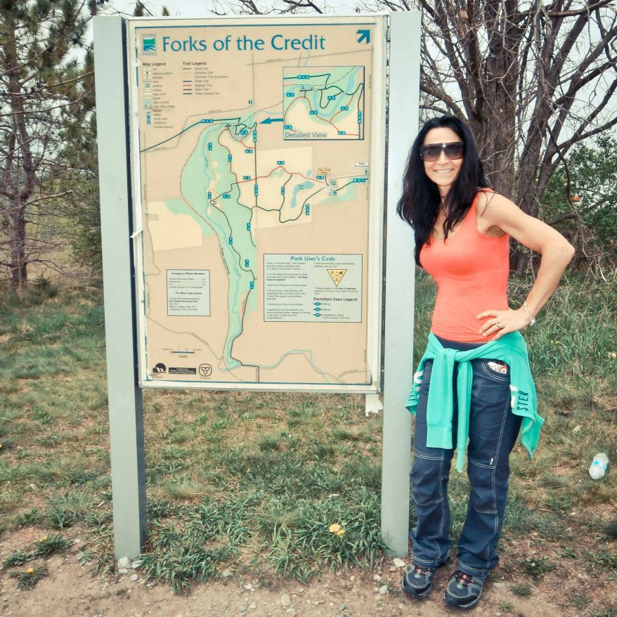 Things to see in Caledon, Forks Of the Credit Park Map, Forks Of the Credit Provincial Park, Cataract Mill Ruins, Cataract Falls, Hiking Trail Ontario,