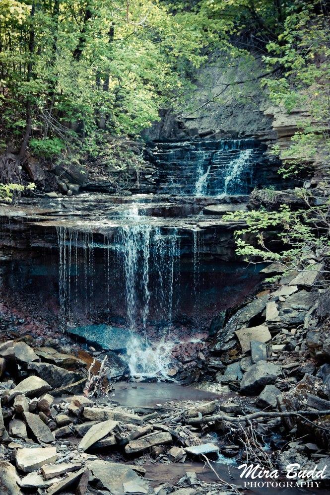 Lower Cliffview Waterfalls Hamilton, Hamilton Waterfalls, Waterfalls in Hamilton, Ontario Hiking Trails,