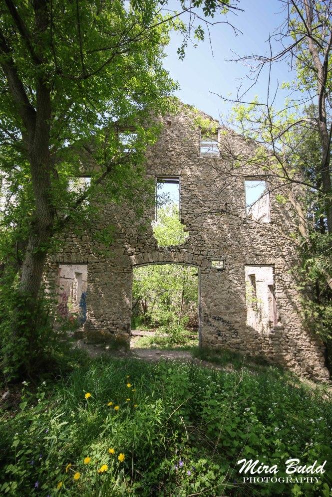 Mills in Ontario, Ontario Mill Ruins, Old Mills in Ontario, Elora Mill Ruins,