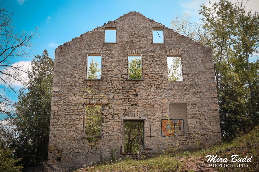 Ruins in Ontario, Things to see in Ontario, Mill Ruins in Ontario, Elora Mill Ruins,