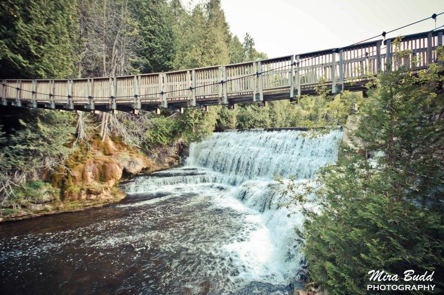 Things to see in Caledon, Swing Bridge, Belfountain ConservationArea, Waterfalls ontario,