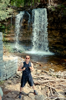 Hilton Falls, Backpacking Ontario, Hiking Trails in Ontario, Hiking Trail Map Halton Falls Conservation Area,