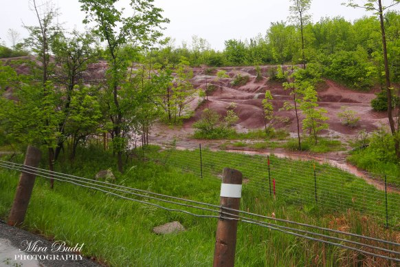 Caledon Badlands Fenced Off, Hiking Trails in Ontario,