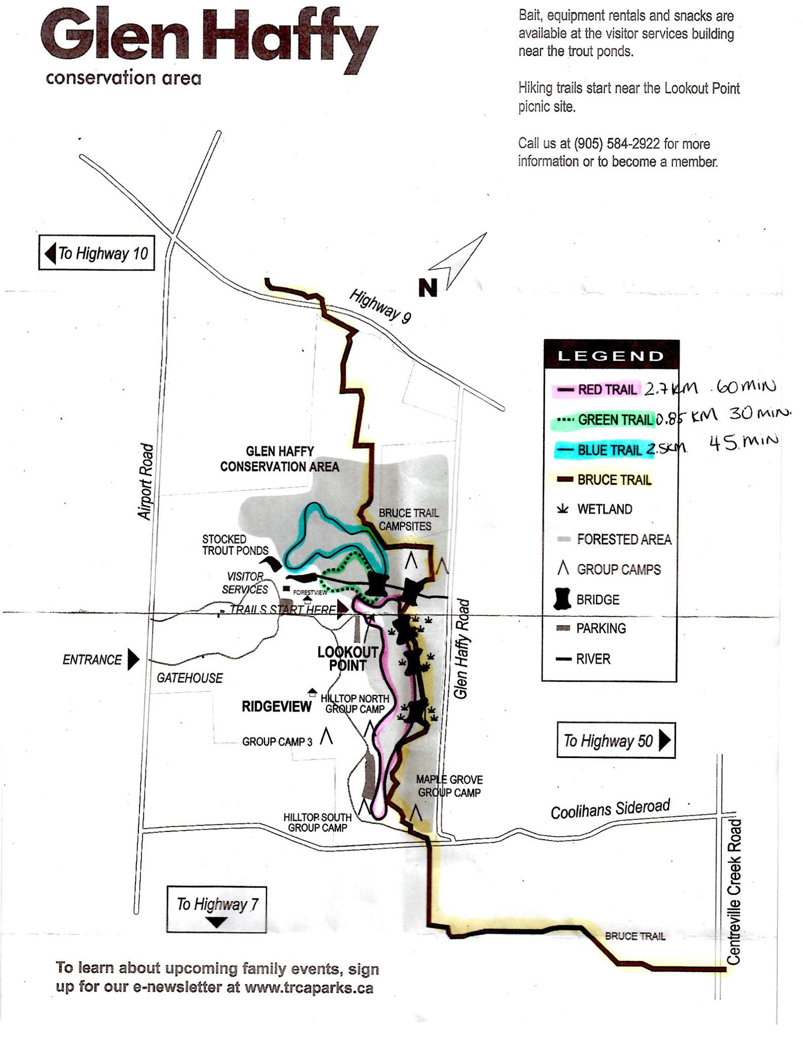Glen Haffy Conservation Area Map Lifeology 101