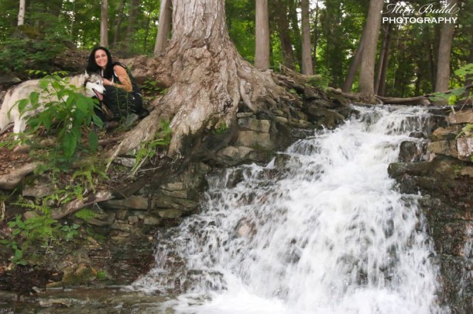 Snow Creek Falls, Halton Hills Ontario, Ontario Waterfalls, Beautiful Places in Ontario, Hiking Trails in Ontario,