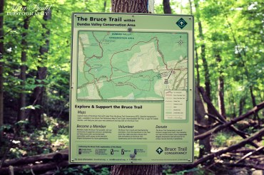 The Bruce Trail Map Sherman Falls
