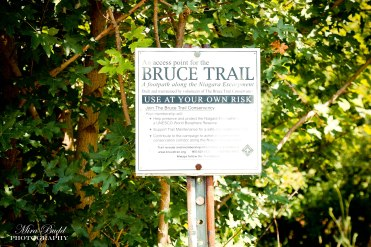 Borer's Falls Conservation Area, Bruce Trail