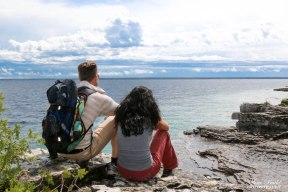 Hiking Trails Ontario, Ontario Hiking, Beautiful Places in Ontario, Things to See in Ontario, Snorkelling in Tobermory,