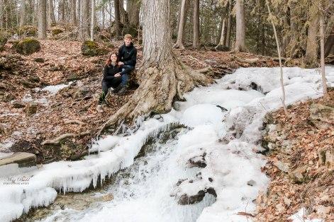 Snow Creek Waterfalls, Ontario Waterfalls, Hiking Trails Ontario, Ontario Hiking, Bruce Trail, Beautiful Places in Ontario, Silver Creek Conservation Area,