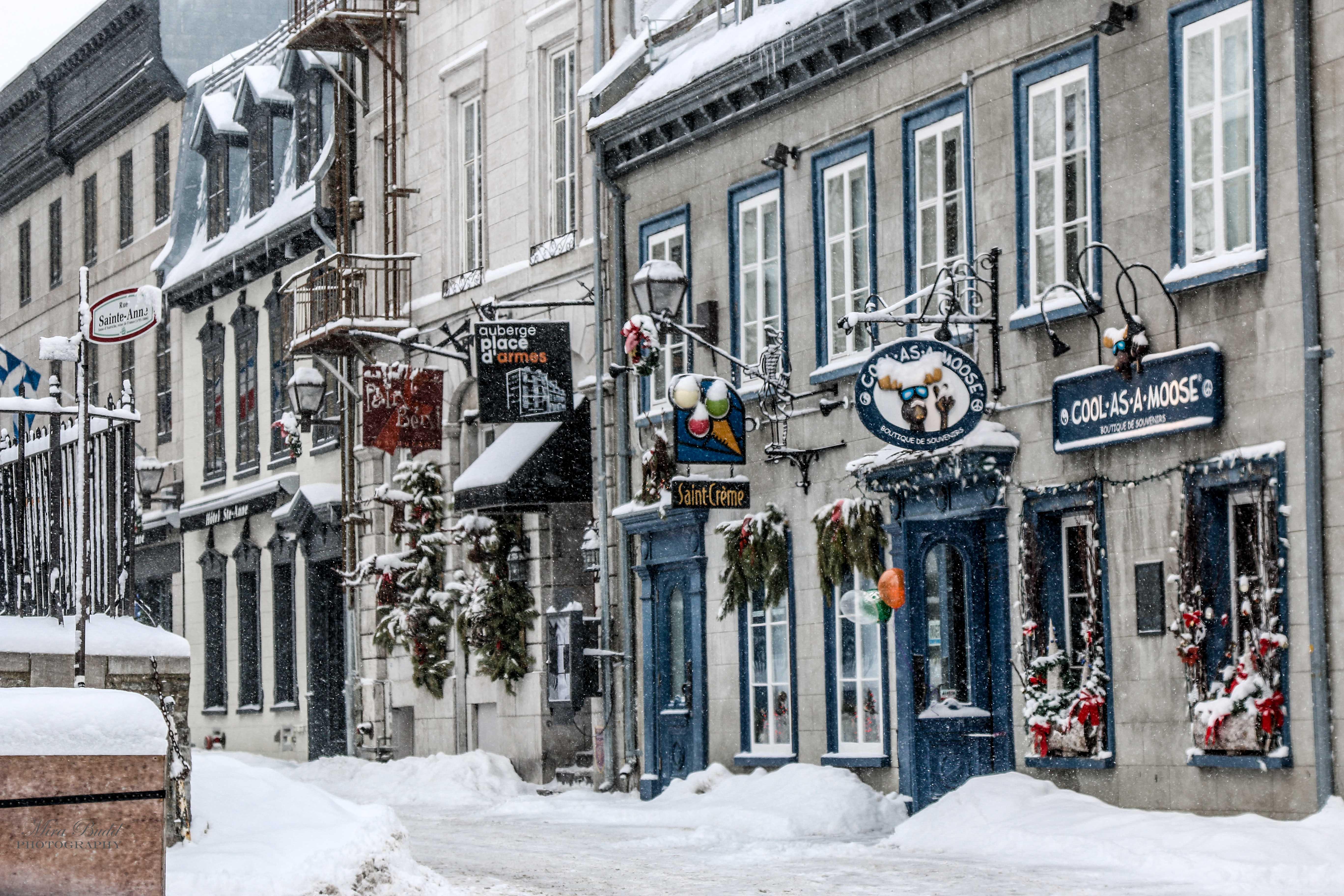 Vegetarian Restaurants In Old Quebec City