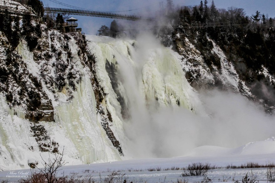 Montmorency Falls, Quebec Waterfalls, Quebec City Waterfalls Waterfalls in Quebec City, Things to See in Quebec, Places to Visit in Quebec in Winter, Hiking Trails Quebec City, Snowshoeing Trails Quebec, Things to Do in Quebec City in Winter, Attractions Quebec,