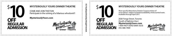 Attractions Ontario 2017 Coupons, Coupons Ontario, Coupons Ontario 2017, Things to do in Ontario,