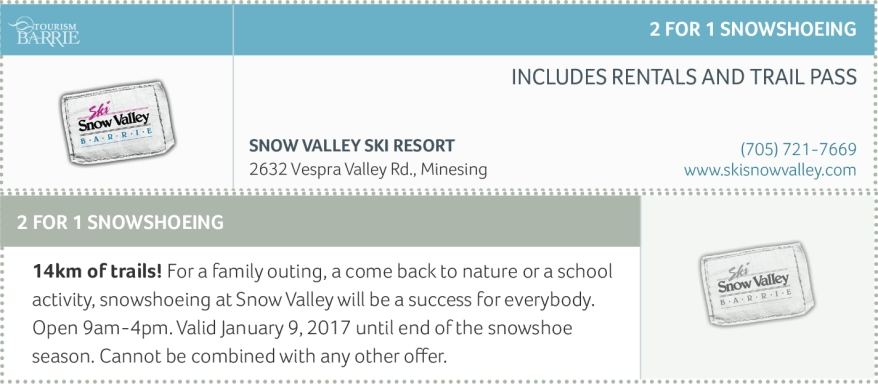 About Snow Valley Ski Area Snow Valley has three bars, two restaurants, an all-terrain board park, two winter terrain half pipes, a skatepark, a sports shop, ski rentals, snowboard rentals, a demo center and a ski and snowboard learning center.