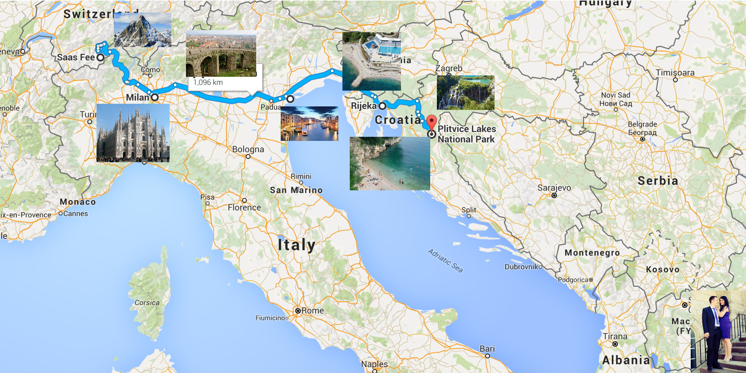 Our Euro Itinerary Italy Switzerland Croatia And Macedonia Lifeology 101