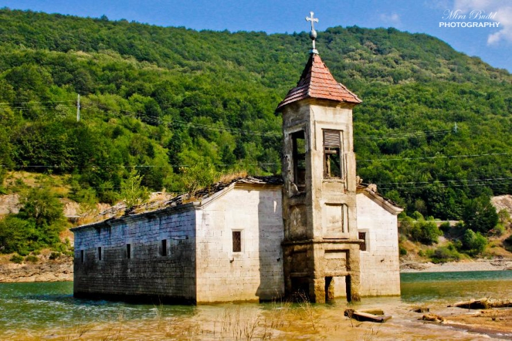Saint Nicholas Church, Underwater Church in Macedonia, Mavrovo, Macedonia, Things To See in Macedonia, Places to Visit in Macedonia, Things to Do in Macedonia,