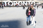 Toronto Sign at Nathan Phillips Square - Toronto Ontario