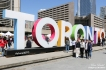 Toronto Sign at Nathan Phillips Square - Toronto Ontario