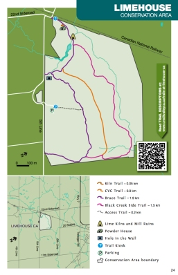Limehouse Conservation Area Map, Conservation Areas Ontario, Hiking Trails Ontario, Best Part of the Bruce Trail, Hiking Trails in Halton Hills, Ruins in Ontario, Beautiful Places in Ontario, Ontario Hiking Trails,