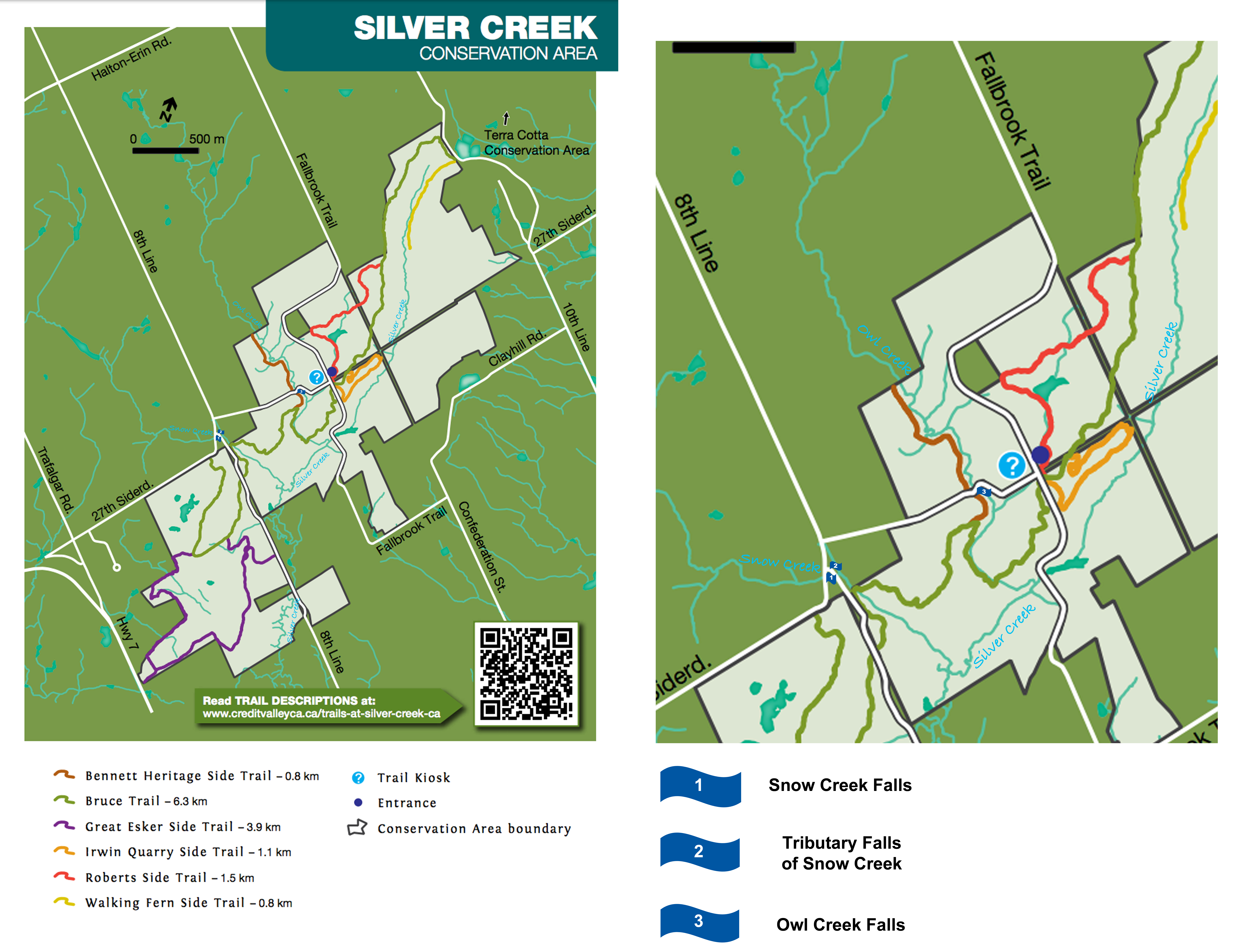 Falls In And Around Silver Creek Conservation Area Lifeology - 6 scenic hikes in halton hills