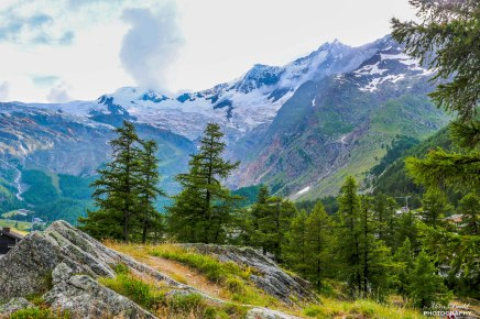 Euro Vacation Day One – Drive From Milan, Italy To Saas Fee,Switzerland