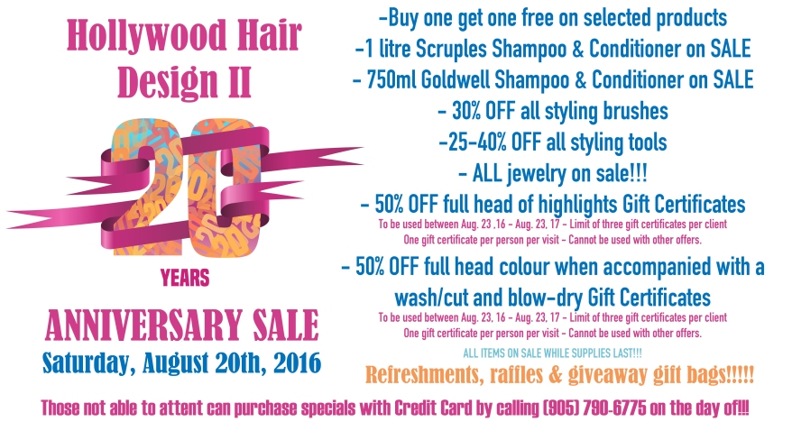 Hair Products Specials, Best Hair Prices, Brampton Hair Salons, Best Hair Products, Hair Gift Certificates,
