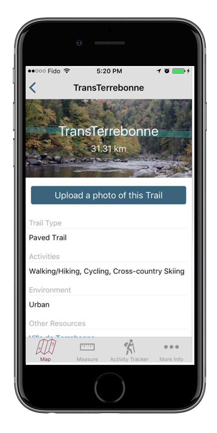 Trans Canada Trail Map App Lifeology - Trail map apps