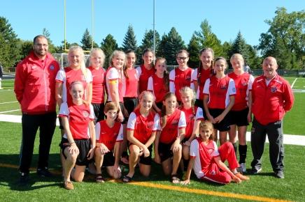Athlete Institute FC Vs Ottawa SU –U/13s