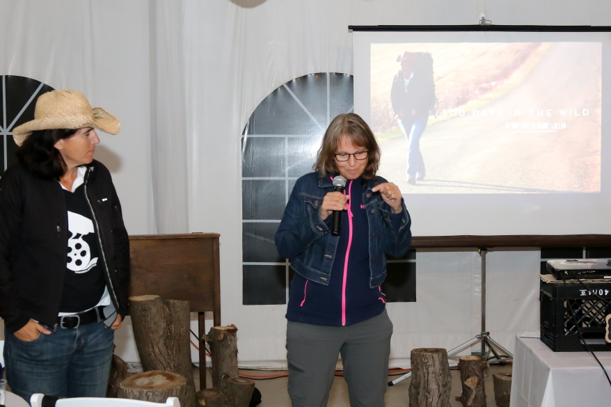 Speaking Events in Caledon, Dianne Whelan, 500 Days in The Wild, Hiking Films, Hiking Documentaries, Canada Hiking Trails, Trans Canada Trail,
