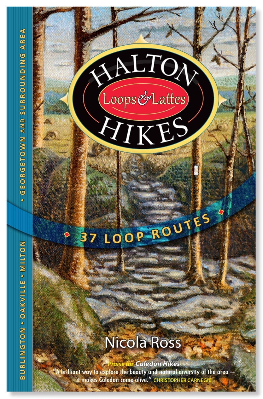 Hiking Books, Best Hiking Bools, Hiking Trails Caledon,