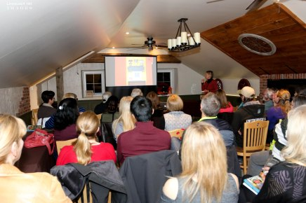 Book Signing and Talk With Author Nicola Ross –Photos