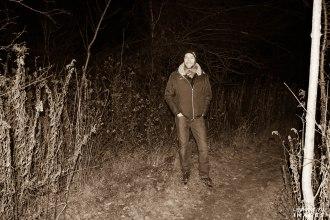 Hiking Ontario at Night