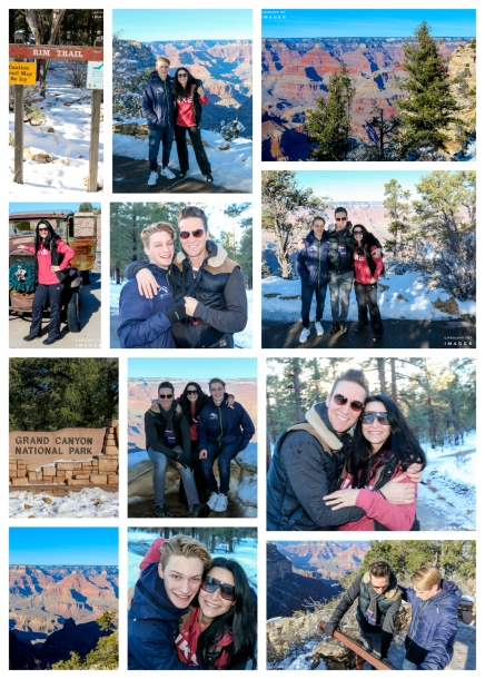 Grand Canyon South Rim in December:)