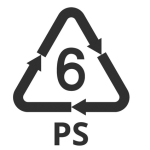 Plastic Number 6, recycling symbol, Recycling Numbers, recycling and plastic type, resin sign and symbols, identification codes,