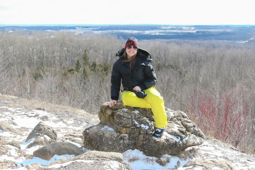 Mono Cliffs Lookout Point