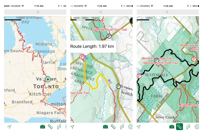 Best Hiking Apps, Bruce Trail App, Hiking Trail Guides, Hiking Trails Ontario,