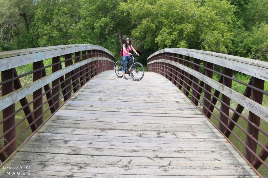 Cycling Trails Ontario, Humber Valley Trail Toronto, Best Biking Trail in Ontario, Opus WKND Bike,