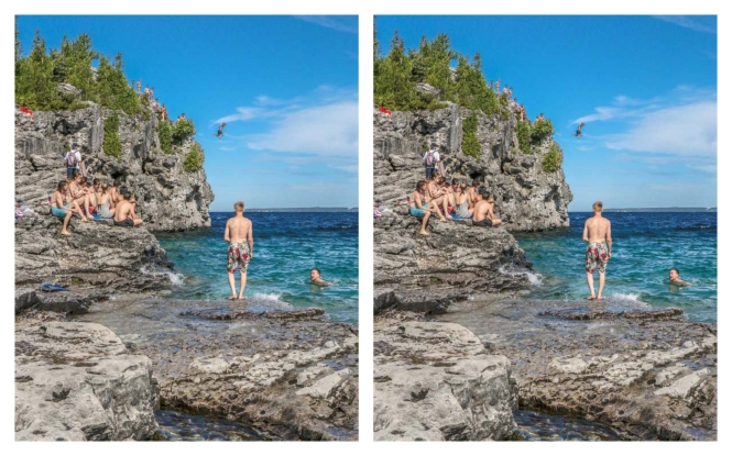 Find the Difference, Hiking Trails Ontario, The Grotto,