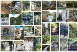 Waterfalls in Ontario, Best Ontario waterfalls,