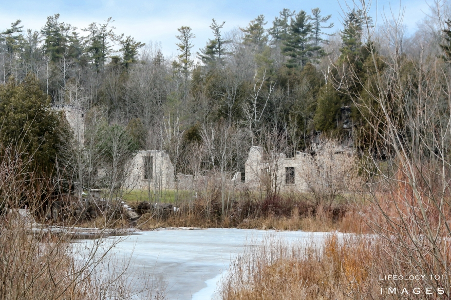 Ontario Mill Ruins, Hiking Ontario,