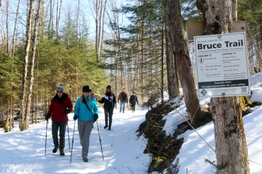 Bruce Trail Hiking, Hiking Ontario, Bruce Trail Hiking, Things to do in Winter,