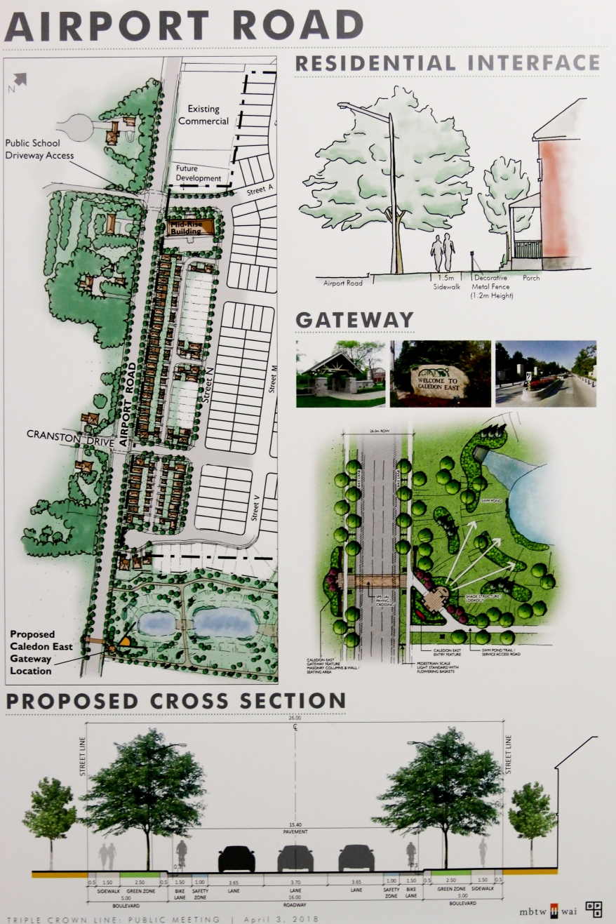 Caledon East Development Plan Airport Road