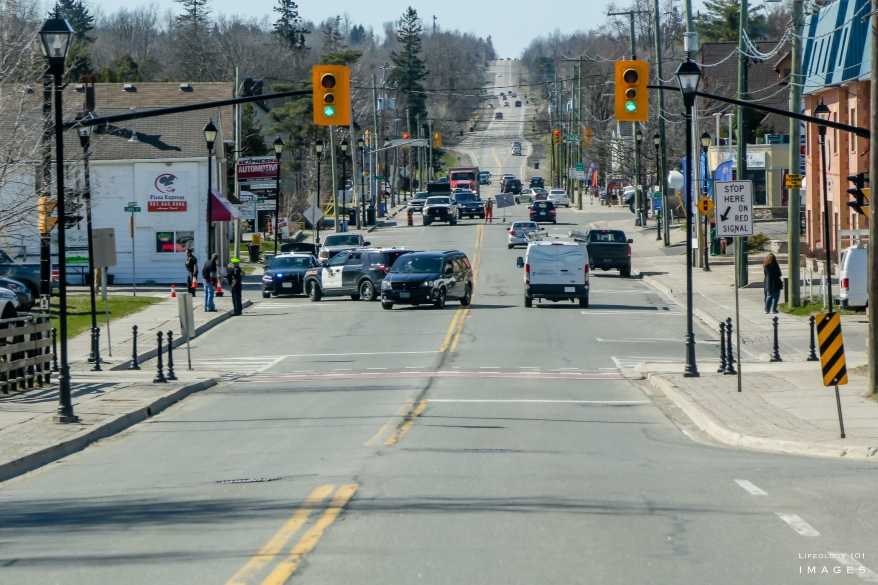 Road Closure Caledon East