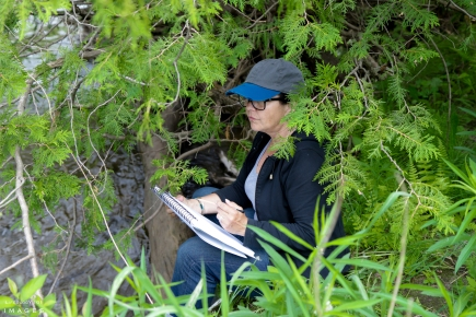 Hike and Sketch with Cory Trepanier